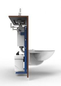 comment fonctionne un wc avec broyeur compact les. Black Bedroom Furniture Sets. Home Design Ideas