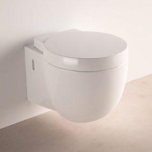 wc suspendu en presentation